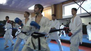 cours de karate - pédagogie avec Lilian Froidure