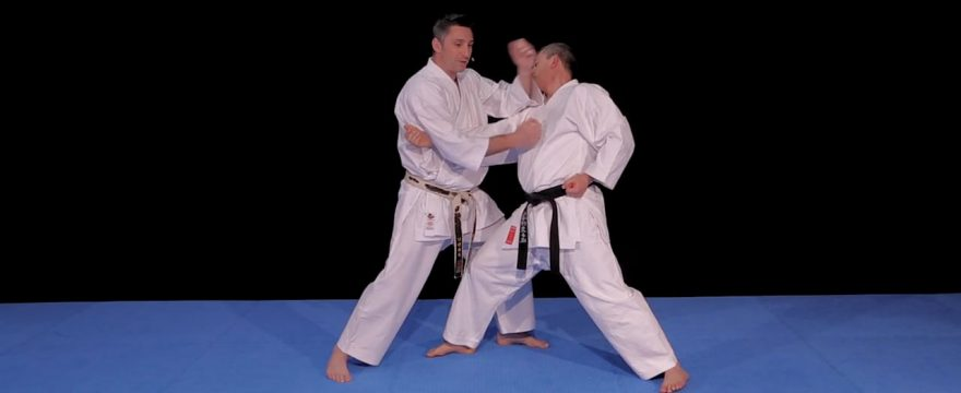 bunkai heian nidan karate shotokan avec lionel froidure