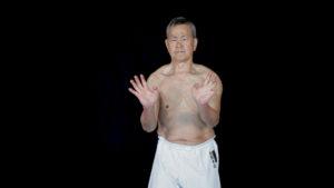 sanchin kata karate uechi ryu shimabukuro sensei
