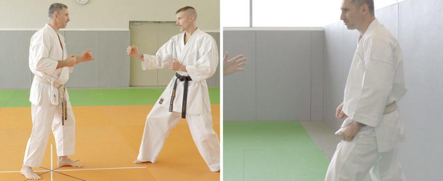 tenshin happo - 8 directions karate vidéo avec Lionel Froidure