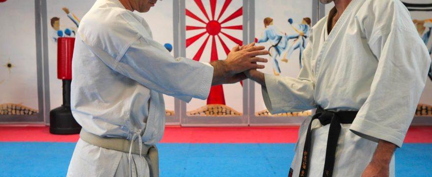 Lundi Karate avec Lionel
