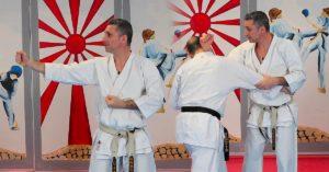 video bunkai chinte avec Lionel froidure karate shotokan
