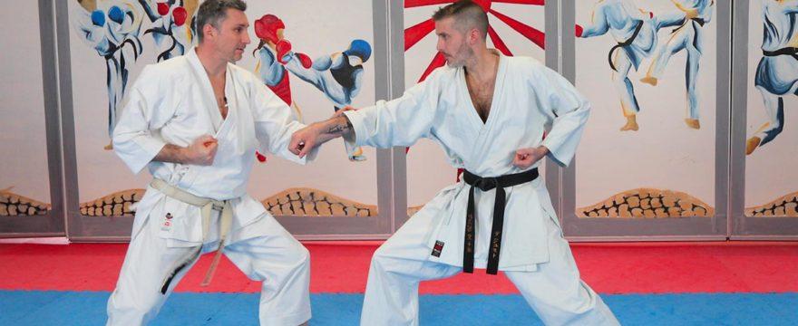 exercices de karaté pour développer le go no sen avec Lionel Froidure