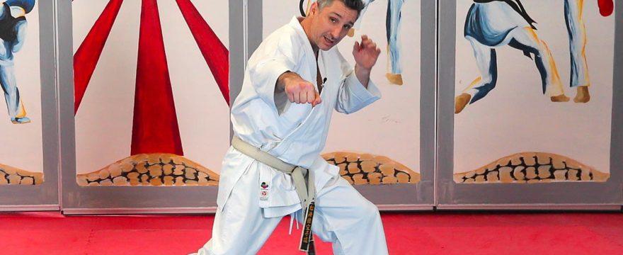 video San Kaku Tsuki Zuki avec Lionel Froidure - Karate