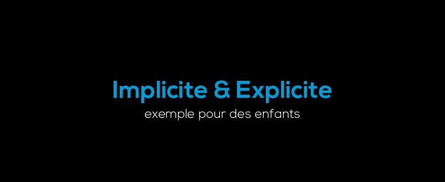 implicite-explicite